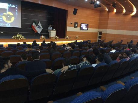 استقبال دانشجویان و اساتید